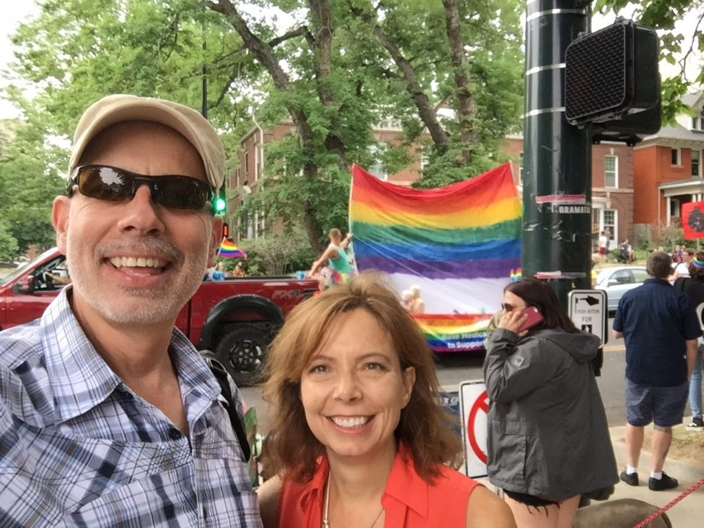 PrideFest is an annual gay pride event held each June in Denver, honoring the culture and heritage of the lesbian, gay, bisexual, and transgender community in the State of Colorado.