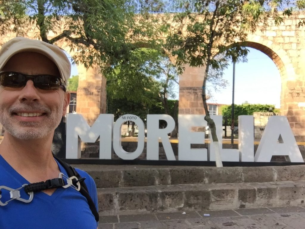 Morelia has an aqueduct - and I like it