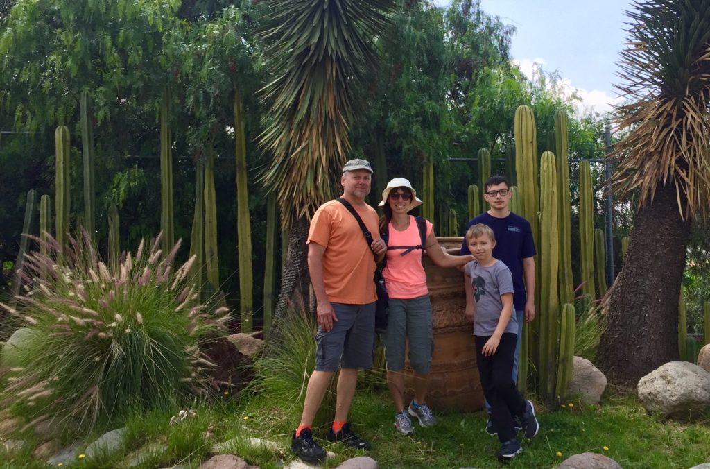 A branch of my gringo family visiting Guanajuato